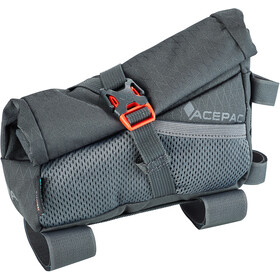 Acepac Roll Fuel Frame Bag, grey